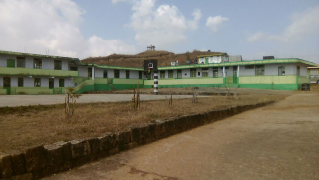Sohra Government College  Front View