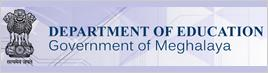 Department of Education, Government of Meghalaya Logo